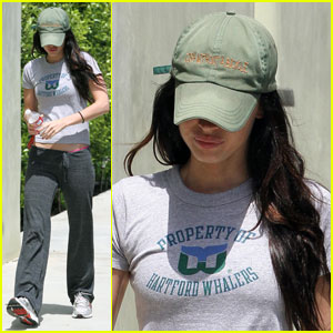 Megan Fox Covers Up