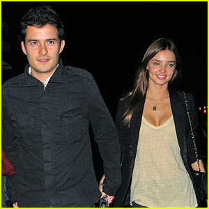 Miranda Kerr: Engaged to Orlando Bloom!
