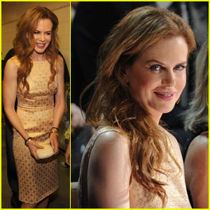 Nicole Kidman: Gorgeous In Gold At CMT Awards