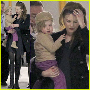 Nicole Kidman &#038; Sunday Rose: Sydney Arrival!