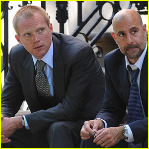 Paul Bettany & Stanley Tucci: 'Margin Call' Mates