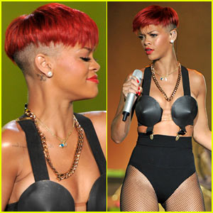 Rihanna's Red Hair -- HOT or NOT?