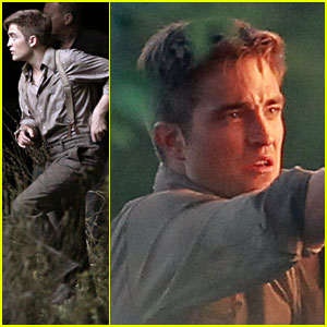 Robert Pattinson: Working Hard for 'Water'