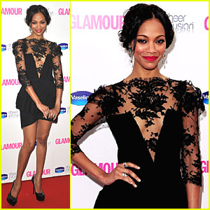 Zoe Saldana: Lacy in London!