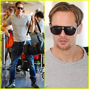 Alexander Skarsgard: Ready for Take-Off!
