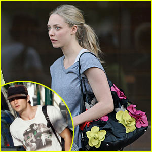 Amanda Seyfriend: Gym Time with Shiloh Fernandez!