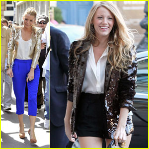 Blake Lively Goes 'Rogue' in Paris