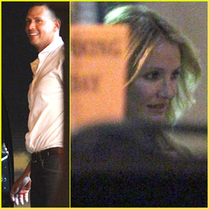 Cameron Diaz: Helicopter Ride with A-Rod!