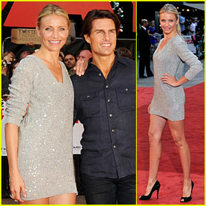 Cameron Diaz & Tom Cruise To Hit British Race Circuit