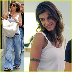 Elisabetta Canalis: Shoe Shopping in Milan!