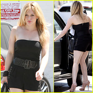 Hilary Duff: 24-Karat Goldie!