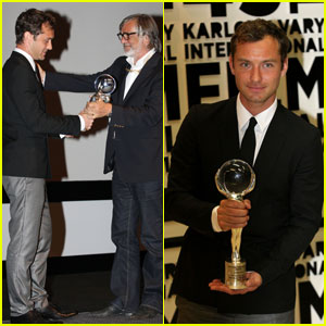 Jude Law: President's Prize in Czech Republic!