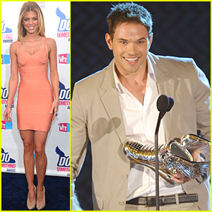 Kellan Lutz: Do Something Awards with AnnaLynne McCord!