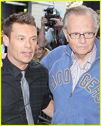 Larry King Wants Ryan Seacrest To Replace Him