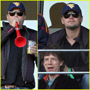 Leo DiCaprio Toots His Own Horn at World Cup