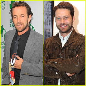 Luke Perry & Jason Priestley Team Up for 'Goodnight For Justice'