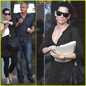 Sandra Bullock: Meeting with Stephen Daldry!