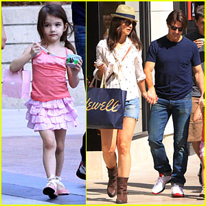 Tom Cruise & Katie Holmes: Westfield Mall Shopping Spree!