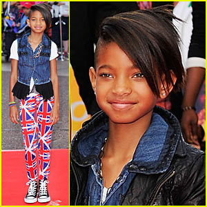 Willow Smith: Union Jack Fashionista