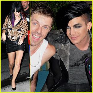 Adam Lambert & Katy Perry: Scissor Sisters Concert!