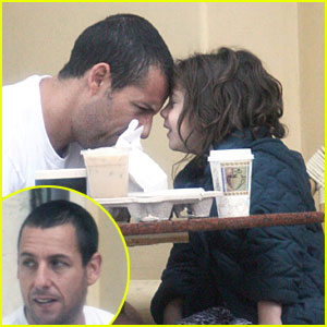 Adam Sandler & Sadie: Coffee Date!