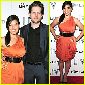 America Ferrera & Ryan Piers Williams: 'Dry Land' Lovebirds