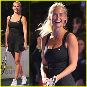 Bar Refaeli: Tennis Match with Rafael Nadal!