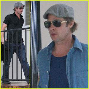 Brad Pitt Checks Up On New Orleans