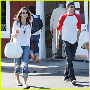 Camilla Belle & Topher Grace: Brentwood Buddies