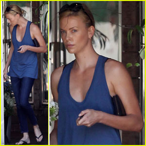 Charlize Theron: Moe's Flower Girl