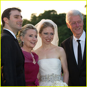 Chelsea Clinton: Wedding Photos with Marc Mezvinsky!