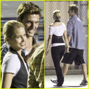 Dianna Agron & Alex Pettyfer: New Couple Alert!
