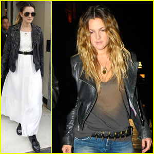 Drew Barrymore: Bullet Belt!