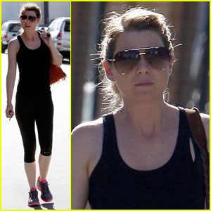 Ellen Pompeo: Fit and Fine