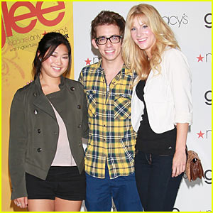 GLEE Apparel Launch Event with Jenna, Kevin and Heather!