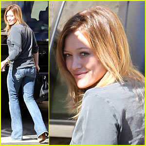 Hilary Duff: Dentist Check-Up!