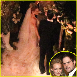 Hilary Duff: Wedding Pictures with Mike Comrie!