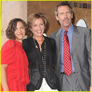 Maggie Gyllenhaal & Hugh Laurie: Emma Thompson Gets Her Star!