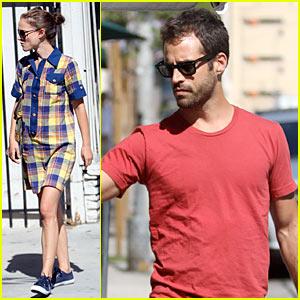 Natalie Portman & Ben Millepied: Down to Urth