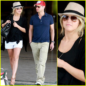 Ryan Seacrest & Julianne Hough Ride Around Town
