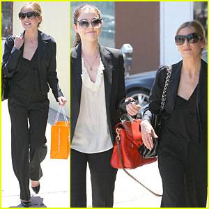 Sarah Michelle Gellar & Michelle Trachtenberg: Mini-Buffy Reunion!