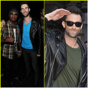 Adam Levine: 'Hands All Over' Album Release Party!