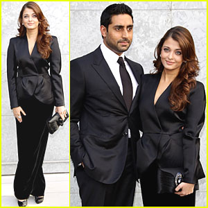 Aishwarya Rai: Armani Show with Abhishek Bachchan!