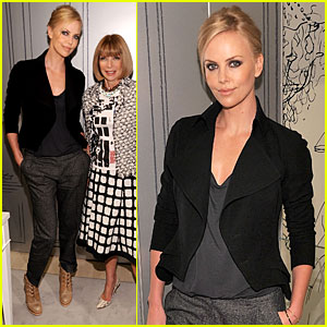 Charlize Theron: Fashion's Night Out with Dior!
