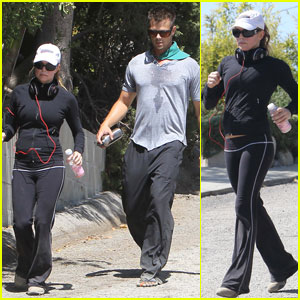 Fergie & Josh Duhamel: Fitness Fanatics