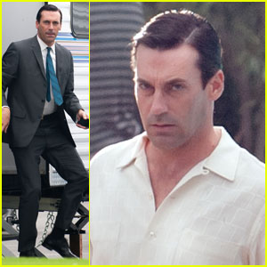 Jon Hamm Gets Back Into The Madness
