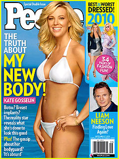 Kate Gosselin: Bikini on 'People' Cover!
