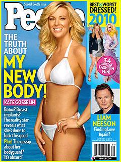 Kate Gosselin: Bikini on 'People' Cover!