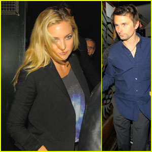 Kate Hudson & Matthew Bellamy: Groucho Club Couple