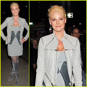 Katherine Heigl Goes 'Grey' in NYC